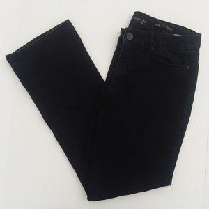 Khloe Kardashian Jeans Curvy Slim Boot 14 Black
